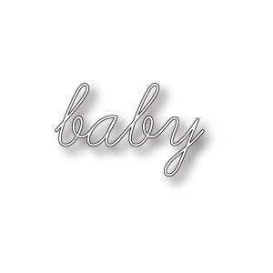 Memory Box 98866 - Baby Script
