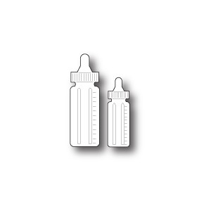 Memory Box 98867 - Baby Bottles