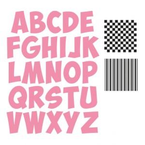 Marianne Design COL1350 - Alfabet + печати