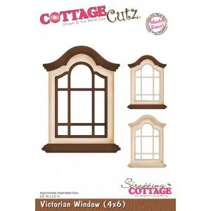 Cottage Cutz CC133 - Victorian Window (4x6)