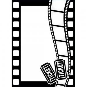 Darice EB1219125 - Movie Theme