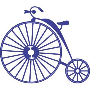 Cheery Lynn Designs B356 - Vintage Bicycle (Steampunk Series)