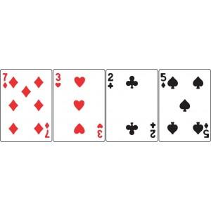Cheery Lynn Designs B398 - Mini Playing Cards
