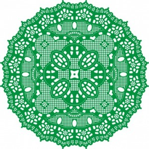 Cheery Lynn Designs DL108 - Kiwi Spirit Doily
