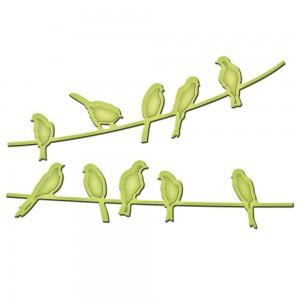Spellbinders IN024 - Bird On A Wire