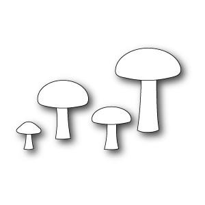 Poppystamps 1063 - Forest Mushrooms