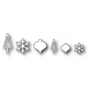 Poppystamps 1040 - Christmas Baubles