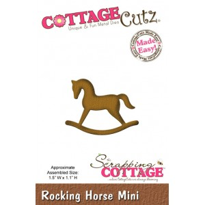 Cottage Cutz CC161 - Rocking Horse (Mini)