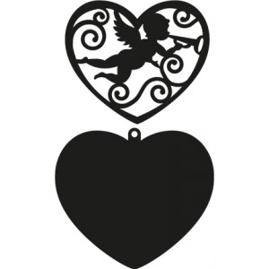 Marianne Design CR1283 - Filigree Angel Heart