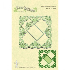 Leane Creatief 459906 - Frame square lace
