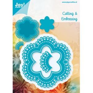 Joy crafts 6002/0361 - Дантелена рамка от цветенца