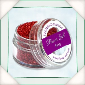 Flower Soft Diamond Range - Ruby 20ml