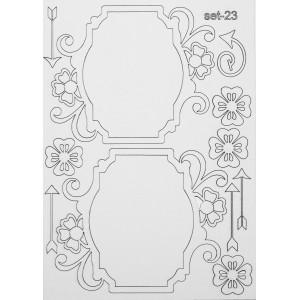 СЕТ023 / A5 - Комплект с елементи от бирен картон