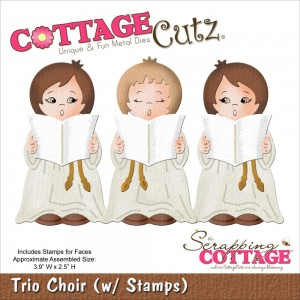 Cottage Cutz CC021 - Trio Choir + печати