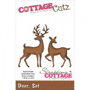 Cottage Cutz CC016 - Deer Set