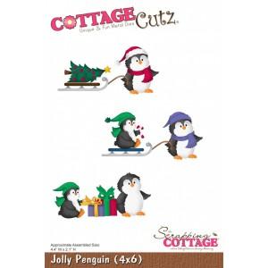Cottage Cutz CC143 - Jolly Penguin (4x6)
