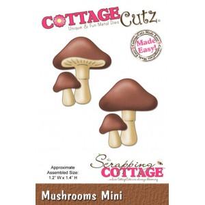 Cottage Cutz CC147 - Mushrooms (Mini)