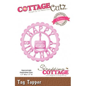 Cottage Cutz CCE163 - Tag Topper