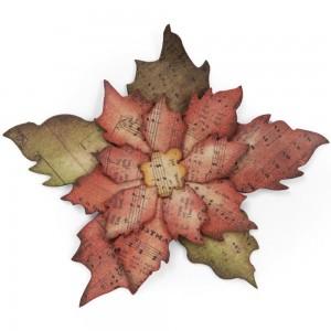 Tim Holtz 658261 - Tattered Poinsettia