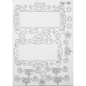 СЕТ031 / A5 - Комплект с елементи от бирен картон