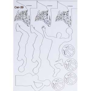 СЕТ039 / A5 - Комплект с елементи от бирен картон