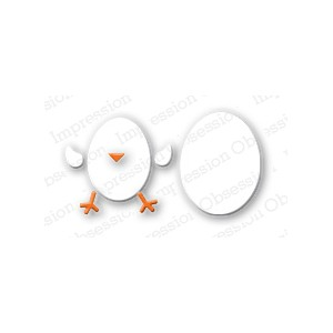 Impression Obsession DIE041-A - Egg Set