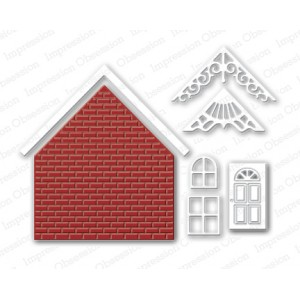 Impression Obsession DIE119-Z - Brick House