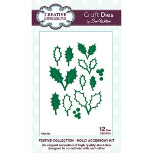 Creative Expressions CED3014 - Holly Accessory Kit