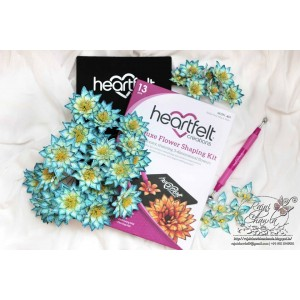 Heartfelt Creations HCST1401 - Deluxe Flower Shaping Kit