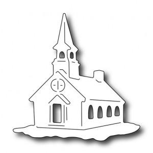 Frantic Stamper FRA-Die-09669 - Snow Globe Church
