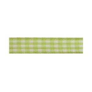 Текстилна панделка - VICHY - 10 - 027