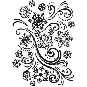 Darice EB121839 - Snowflake Swirl